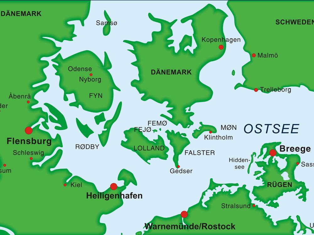 Wo Liegt Schwanitz Ostsee Karte.Segeltörn Rügen Bornholm Südküste Schweden